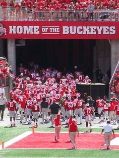 Every game's a home game!  GO BUCKS!!! Beat the Sooners.