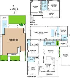 Islamic house layout