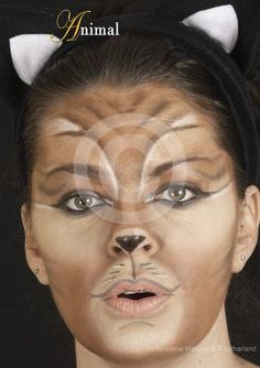 A grown up take on cat make-up