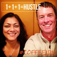 Today Arifah Aronson and I talked about how Entrepreneurs hustle for My CoffeeADay Initiative: 1 Coffee, 1 Person, Every Day.  http://coffeeaday.net/post/111534432766/today-arifah-aronson-and-i-talked-about-how