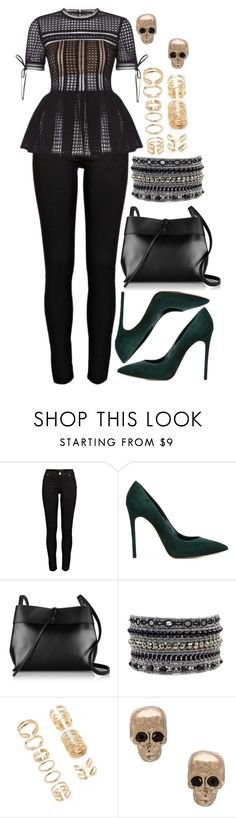 """1012."" by adc421 on Polyvore featuring River Island, Casadei, Kara, Forever 21 and Givenchy"