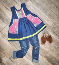 Violette Fields Threads Clara top with Luna Pockets VFT