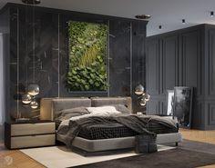 دکوراسیون اتاق خواب با نقاشی و بافتبعدی #5 - گروه طراحی ناتک (کلیه حقوق محفوظ است) Latest Bedroom Design, Modern Bedroom Design, Bed Design, Bedroom Designs, Arty Bedroom, Bedroom Red, Bedroom Decor, Master Bedroom, Feature Wall Bedroom