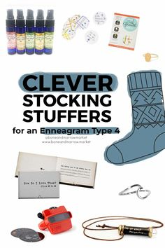 We've shopped Stocking Stuffers for an Enneagram Type 4. If you're holiday shopping check out this clever and stocking-sized gift list for her. #Enneagram4GiftIdeas #Enneagram4Gifts #enneagram type4gift ideas #EnneagramType4 #StockingStuffersforMom #StockingStufferIdeas #StockingStuffersforHer Stocking Stuffers For Mom, Christmas Stocking Stuffers, Best Friend Christmas Gifts, Diy Christmas Gifts, Type 4 Enneagram, Cute Phrases, Traditions To Start, Gift List, Holiday Gift Guide