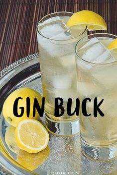 This Gin cocktail is refreshing and sweet, making it the perfect Spring and Summer time drink. The Gin Buck is a cocktail that everyone will love. Drinks Gin Drinks We Love: Gin Buck Gin Drink Recipes, Gin Cocktail Recipes, Cocktail Drinks, Yummy Drinks, Alcoholic Drinks, Beverages, Best Gin Cocktails, Summer Cocktails, Drink Recipes