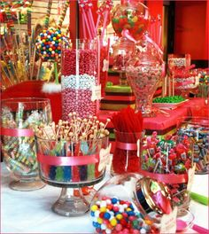 Candies and snack and chocolate are always a good option !
