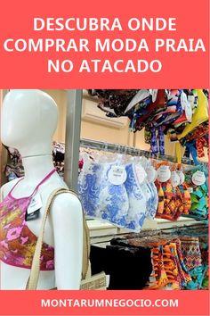 Descubra onde comprar moda praia no atacado para revenda! Maneiras De Ganhar  Dinheiro 3bbbfcbb19b