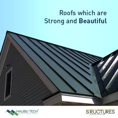 We mastermind your roofs to be strong from inside and beautiful from outside. #MalibuTech #Roofing #Structure