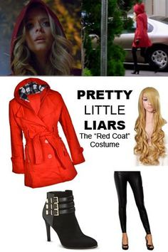 """#Halloween13: Pretty Little Liars Costume Ideas - How to dress like """"Red Coat"""" (who may or may not be """"A""""?)"""