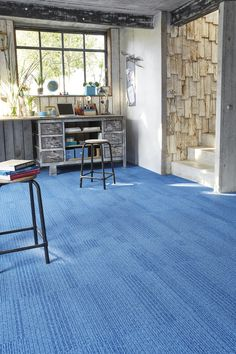 Infini Colors - River #Balsan #nature #river #water #blue #design #designideas #interior #interiordesign #interiors #decor #decoration #ideas #color #carpet #modern #creativity #flooring #artistic #inspiration #textile #pattern #france #madeinfrance #home #hotel #office