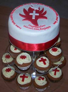 confirmation cake - Idea for 5 or 7 tier stand???
