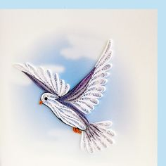 quilled bird | Quilling | Pinterest | Quilling, Peace and ...