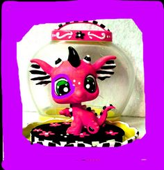Lps Customized Dragon!!! :D love it