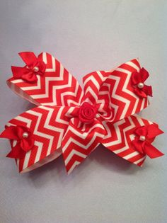Hand Made Hair Bow by NanasCreations101 on Etsy, $4.00