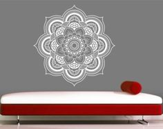 Mandala Wall Decal sticker Yoga Om Namaste Yoga di VandyVinyl