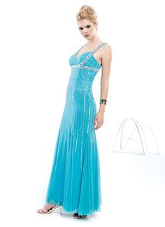 House of Brides - Glamor Girl - Special Occasion Dress - STYLE - GP24