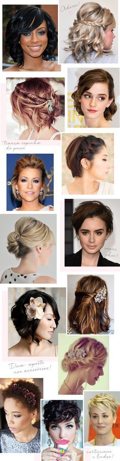 Hairstyles Festa Medio 19 Ideas For 2019 Pretty Hairstyles, Wedding Hairstyles, Lob Styling, Hair Color Dark, Good Hair Day, Hair Color Balayage, How To Make Hair, Hair Today, Hair Dos