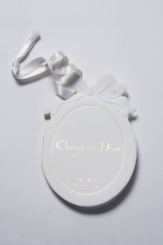Dior 50th anniversary folded tag // NCF Studio Paris