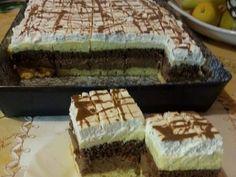 Csokis - vaníliakrémes, habos kocka, egy süti, amivel bárkit elbűvölhetsz! - Egyszerű Gyors Receptek Tiramisu, Ethnic Recipes, Food, Essen, Tiramisu Cake, Yemek, Meals