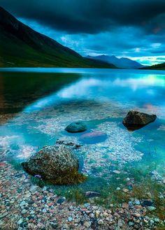 Last Light on Loch Etive, Highlands of Scotland.