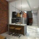 4. Dapur dan Pantry Rumah Kos Pasuruan