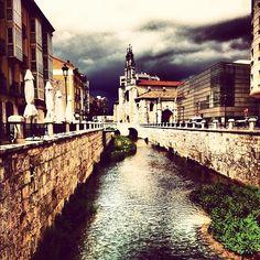 """""""Río Vena y San Lesmes de #Burgos"""" ...por @megavits en #Instagram"""