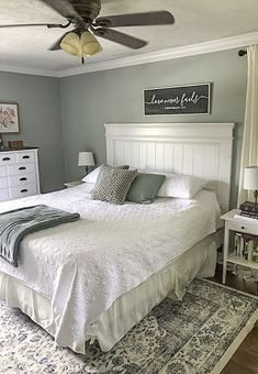 How to Build a Beautiful DIY Farmhouse Headboard- A Weekend Project - White Wooden Headboard, Shiplap Headboard, Diy Bed Headboard, Headboard Designs, Headboard Ideas, Headboards For Beds Diy, Tufted Headboards, Bed Headboard Wood, White Wood Bedroom Furniture