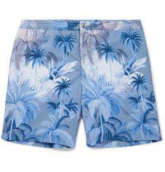 87a0beec Tod's - Mid-Length Printed Swim Shorts Swim Shorts, Summer Shorts, Mid  Length