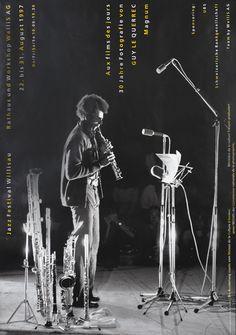 Jazz Festival Willisau (Guy Le Querrec) by Troxler, Niklaus | International Poster Gallery