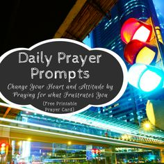 Daily Prayer Prompts