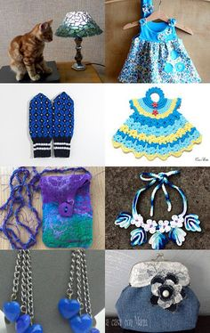 Blue! by Natalia Gulenok on Etsy--Pinned with TreasuryPin.com