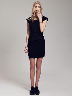 Quelles chaussures avec une robe courte