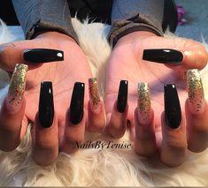 ✨💫 for daily pins 💫✨ Sexy Nails, Glam Nails, Nails On Fleek, Long Nail Art, Long Nails, Acrylic Nail Designs, Acrylic Nails, Acrylics, Different Color Nails