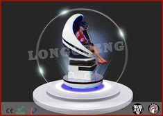 China Single 360 Degree Rotating Seat Virtual Reality Cinema Simulator Many Game Types supplier