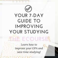 Hello lovely!  Are you frustrated with the results you are seeing on your exams? Feel like you are working hard, but only getting minimal results? There is not much worse than feeling prepared going into a test then getting your test back with a much lower grade than expected. Especially when you actually studied …