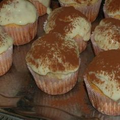 Tiramisu muffin recept Cupcakes, Cake Cookies, Pasta Cake, Alcohol Cake, Muffins, Hungarian Recipes, Hungarian Food, Cheesecake Brownies, Muffin Recipes