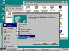 The changes of the Start Menu on Windows over 20 years
