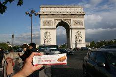 The Cinnamon bar at the Arc de Triomphe in Paris