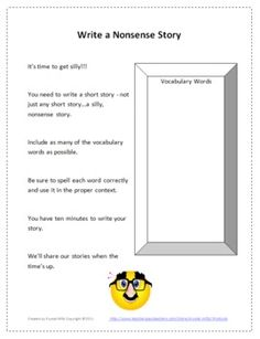 Liven up a boring vocabulary or spelling lesson with this fun vocabulary activity for Grades 6-9.