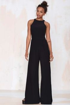 Nasty Gal Side View Palazzo Jumpsuit - Sale: Off Jumpsuits For Women, Long Jumpsuits, Palazzo Jumpsuit, Love Fashion, Womens Fashion, Mode Outfits, Classy Women, Dress To Impress, Marie