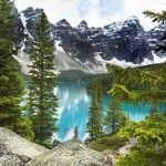 Travel Photo of the Day: Canadian Rockies-Bluest Lake Ever!
