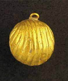 This bell was likely worn by a priest as part of his robe. It was recently found in an excavation near the temple mount. Exodus 28: 33-35 discusses them.