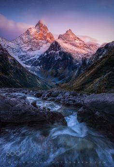 "rivermusic: "" Sustenpass alpenglow by Dag Ole Nordhaug Please retain all photo credits. """