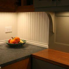 beadboard backsplash kitchen - Google Search