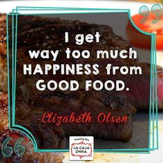 Personality, Good Food, Campaign, Medium, Cooking, Box, Quotes, Cuisine, Qoutes