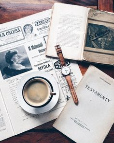 Afternoon. Mood. // My father has got amazing old books and newspapers.. For all of You I have -15% discount for @danielwellington watches. Discount code: DW_Scraperka till 15.05.2016r.  Mój tato ma niesamowitą kolekcję starych książek i gazet.. Na hasło DW_Scraperka mam dla Was -15% zniżki na wszystkie zegarki DW! Promocja trwa do 15.05.2016r. by scraperka