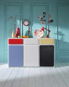Black Red White - kolekcja Possi Light  #brw #blackredwhite #furniture #retro #interior #interiordesign #inspiration #home #homeinspiration #design #homedecor #decoration #homedecoration #colours #black #red #white