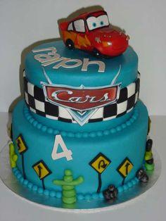 Taart cars cake cars mcqueen