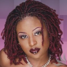 http://www.shorthaircutsforblackwomen.com/how-to-make-your-hair-grow-faster-longer/ GREAT Transition style. Nubian two strand twists with hair added.