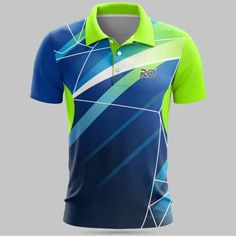 Cricket T Shirt Design, Sport Shirt Design, Sports Jersey Design, Sport T Shirt, Volleyball Jerseys, Basketball, Cricket Sport, Polo T Shirts, Royal Blue